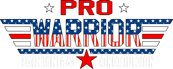 Pro Warrior Painting And Construction Logo